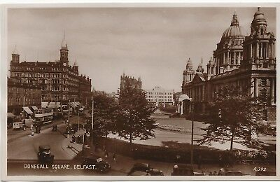 Donegall Square Robinson & Cleaver White Linen Hall 1936 Carbotone Valentine's