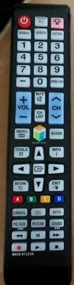 New Replaced Remote BN59-01223A For SAMSUNG SMART TV with All backlit Buttons
