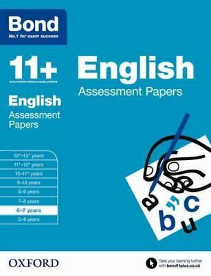 Bond 11+: English: Assessment Papers 6-7 years by Sarah Lindsay 9780192740007