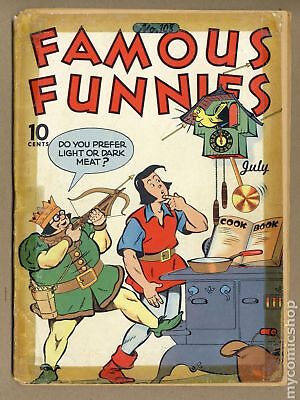 Famous Funnies #108 1943 FR 1.0