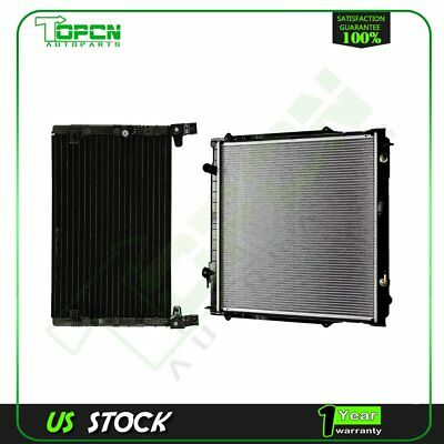 For 1998-2000 Toyota Tacoma 3.4L 4899 1755 AC Condenser&Radiator Assembly