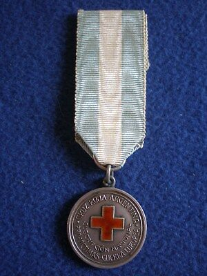 Argentina: Medal-Argentine Red Cross for Victims of the European War, Dec. 1914.