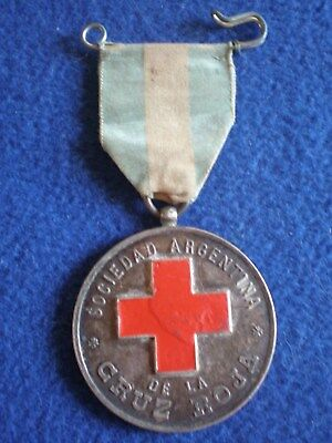 Argentina:  Medal of the Argentine Red Cross, ca. 1920.