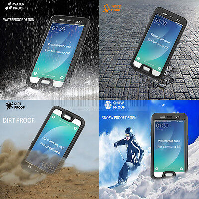 Heavy Duty Waterproof Case Shockproof Dirtproof Hard Cover For Samsung Galaxy S7
