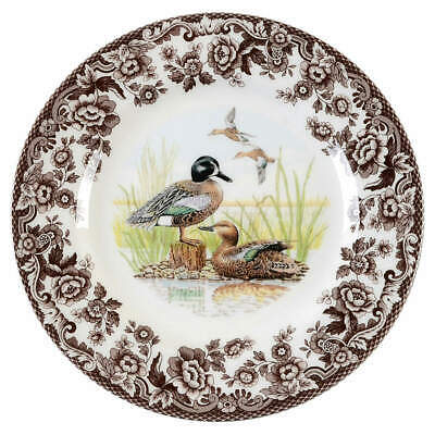 Spode WOODLAND Blue Wing Teal Duck Salad Plate 8358404