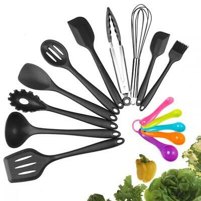 Kitchen Utensil Silicone Cooking Gadgets tools Set 8 Pcs Non Stick Easy Cleanup