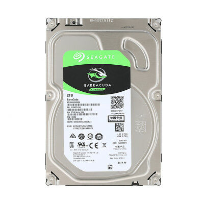 Seagate 2TB Desktop HDD Internal Hard Disk Drive 7200 RPM SATA 6Gb/s 64MB T9L7