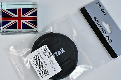 100% Genuine Original Pentax O-Lc72 72Mm Snap On Lens Cap Brand New In Bag In Uk
