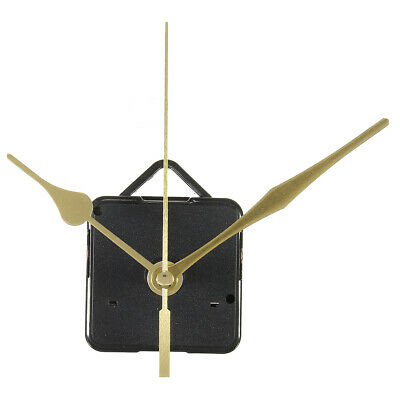 DIY Wall Quartz Clock Long Gold Hands Spindle Movement Mechanism Repair Tools US