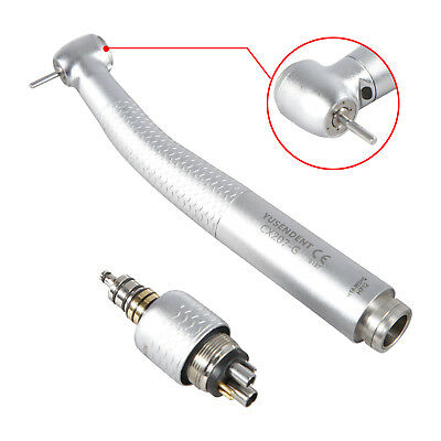 Dentista Dental LED Fiber Optic Handpiece Torque Head 6H Rotor Quick Turbina CX