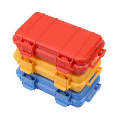 Safety Shockproof Airtight Survival Storage Case Container Carry Box Outdoor BS