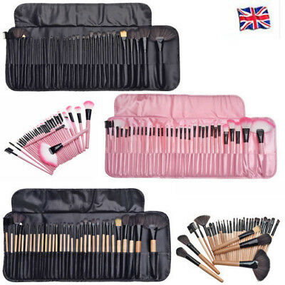 32 Pcs Make Up Brush Set Professional Foundation Brush Kabuki Makeup Brushes Bag