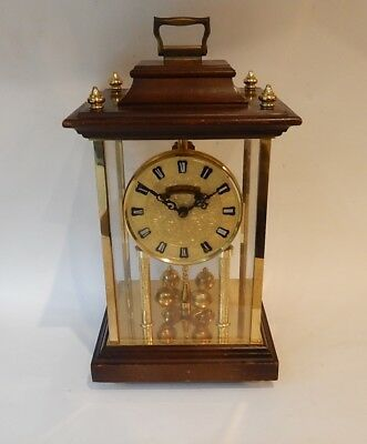 Superb Scmeckenbecher Large German  Anniversary Style Clock Fully working   2886