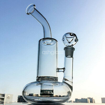Thick Glass Beaker Bong Tornado Lifebuoy Base Cyclone Percolator Bong Water Pipe