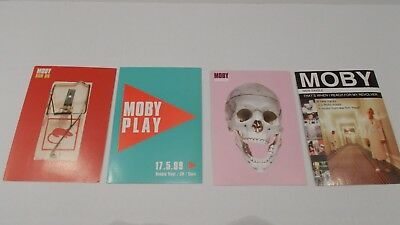 MOBY 4 POSTCARDS play run on