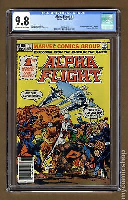 Alpha Flight (1st Series) #1 1983 CGC 9.8 1497464030