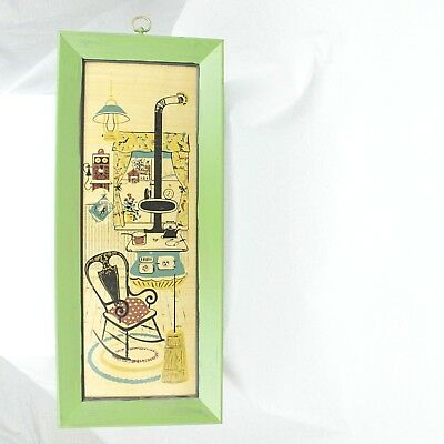 VTG MCM Mid Century Modern Turner Wall Accessory Hanging Country Kitchen