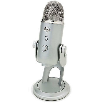 NEW! Blue Microphones 836213001950 Yeti USB Microphone