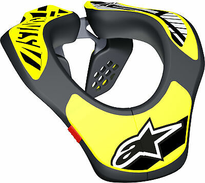 Alpinestars 6540118-155 Youth Neck Support Black/Yellow