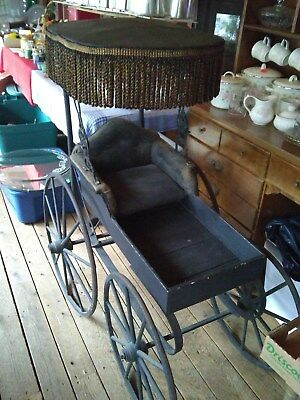 Antique Baby Carriage Buggy