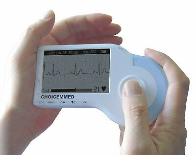 Md100B Handheld Ecg Monitor With Reusable Clmap Electrode , Adult Or Pediatric