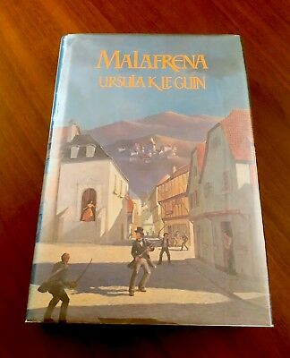 RARE 1979 Signed 1st/1st MALAFRENA Ursula K Le Guin 1st Edition 1st Printing!