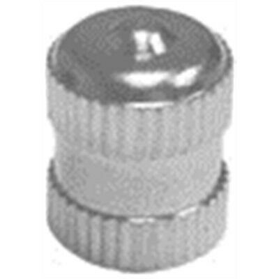 The Main Resource TI103-100 Long Metal Dome Tire Valve Cap With Seal