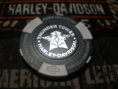 Black Orange Neon Green Poker Chip Harley Haven Harley Davidson