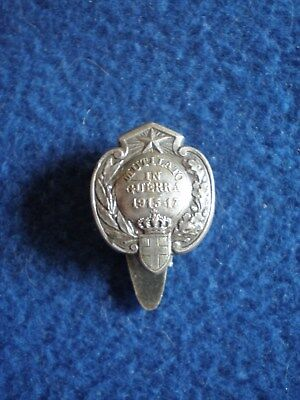 Italy: Badge of Honor for Those Mutilated in War 1915-17.