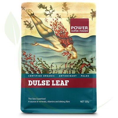 Power Super Foods Organic Dulse Leaf 125g