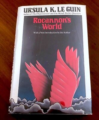 Rare SIGNED 1st/1st ROCANNON'S WORLD Ursula Le Guin HBwDJ 1977 First Printing!!