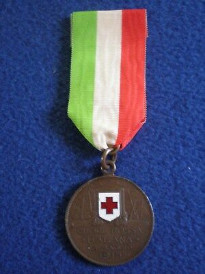 Italy: Patriotic Medal of the Italian Red Cross 25 May 1915.