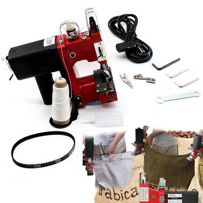 Industrial Sewing Machine 0-6mm Bag Closer Sack Closing Stitching+10 needle 110V