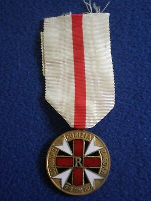 Italy: Medal of the Italian Red Cross for Members of Sezione Quarta 1915-16-17.