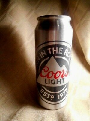 "Coors 6 1/2"" Light Aluminum Metal Beer Drinking (Not Glass) Cup Tumbler Vase?"
