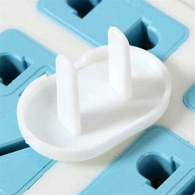 20Pcs Mains Plug Socket Cover Baby Proof Child Kids Safety Plug Guard Protector