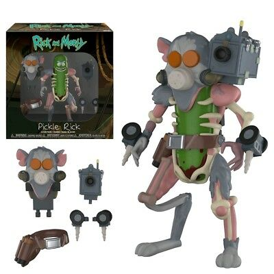 "5""-7"" Figures--Rick and Morty - Pickle Rick Action Figure"