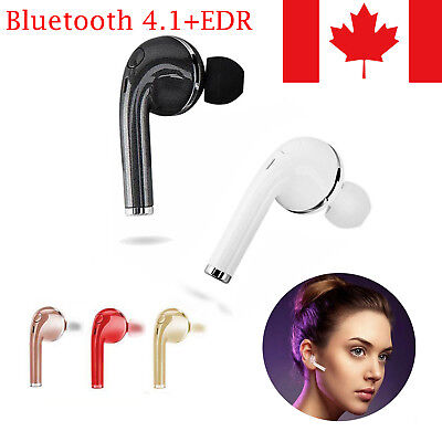 Mini Wireless Bluetooth Headphone Sport Headset In Ear Earbuds Sweatproof w/ Mic