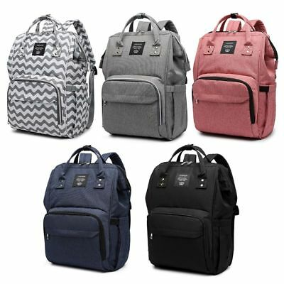 Large Capacity Backpack Mom Baby Care Bag Diaper Nappy Bags
