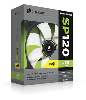 Corsair Air SP120 LED Twin Pack Computer case Fan