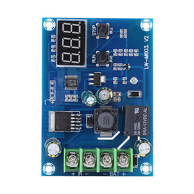 1PCS DC12V-24V Lithium Battery Charge Control Protection Board //w LED Display