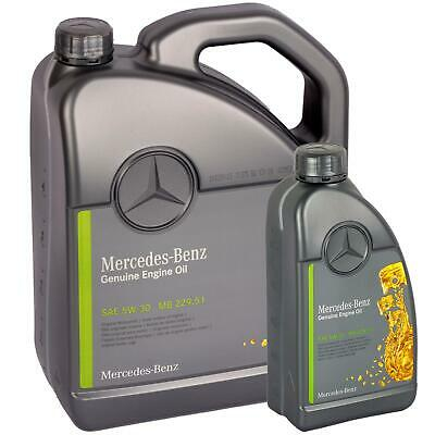 [6,65€/L] 6L Original Oe 5W30 Mercedes Synthetic Motoröl Öl 229.51