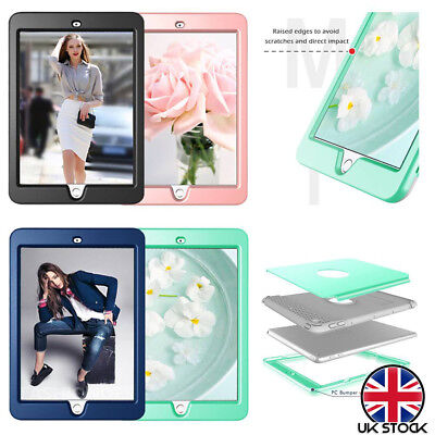 Kids Shockproof Heavy Duty Hard TPU Case Cover For iPad 6th Generation 2018 9.7""