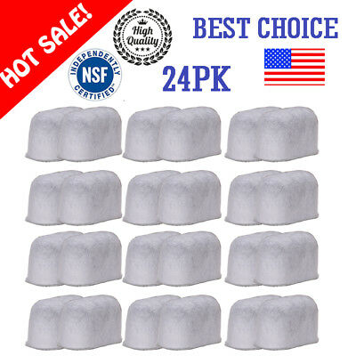 12/24PK Cuisinart Coffee Filter DCC1200 Coffee Maker Charcoal Water Filters