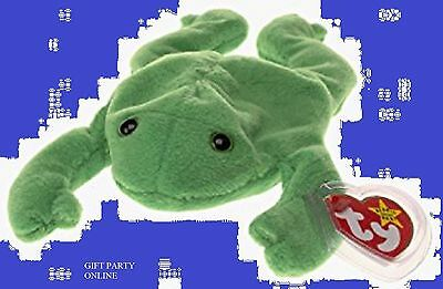 18027089edb TY BEANIE BABY LEGS THE FROG Plush stuffed collectible toy -  5.09 ...