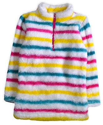 bn ex store girls thick super soft striped fleece 4,5,6,7,8,9,10,11,12,13 yrs