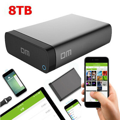 8TB Hi-Speed External Hard Disk Drive Portable Enclosure for 2.5Inch HDD SSD
