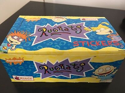 Rugrats Merlin Stickers 120 Boxes