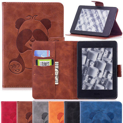 For Amazon Kindle Paperwhite 10th Gen 2018 Smart Wallet Leather Folio Stand Case