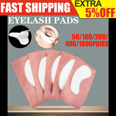 50~200 Pair Eyelash Pad Eye Pad Gel Patch Lint Free Lashes Extension Mask Eyepad